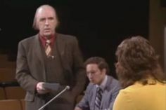 """Here's a look back at a 1974 debate on the question, """"Should Marriage Between Homosexuals Be Permitted?"""""""