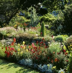 Secret Gardens | The magical, secret garden of Broughton House, left as designed by ...
