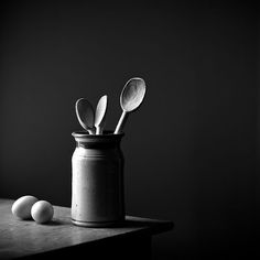 Black and white photography | Food photo | Simplistic Still Life