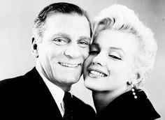 Laurence Olivier, Marilyn Monroe, and by Milton Greene, 1956