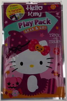 Hello Kitty Play Pack Grab & Go Set 12 Coloring Books Crayons Stickers Halloween #DalmatianPress