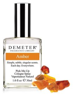 Found a bottle of this that I bought at some time when L'Occitane quit making my favorite perfume. Now that they've discontinued their substitute for that, it looks like Demeter Amber is the way to go (it's a hell of a lot cheaper, too!)
