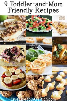 Yummy, easy, and mostly healthy mom and toddler recipes!