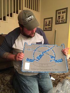 Custom SeaDek Kit for Veterans Excursions to Sea - SeaDek Marine Products Blog