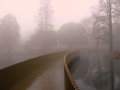 john pawson, sackler crossing, royal botanic gardens, kew