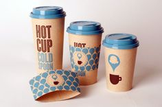 Student Spotlight: Hot Cup Cold Spoon - The Dieline - The #1 Package Design Website -