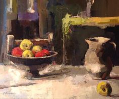 Apples, Lisa Noonis, Oil, 20 x 24 in.