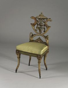 Michelangelo Pergolesi, Side chair (ca. 1785)
