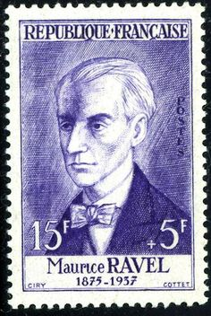 Joseph Maurice Ravel – was a French composer, pianist and conductor. Rare Stamps, Vintage Stamps, Maurice Ravel, Timbre Collection, Postage Stamp Art, Postage Stamp Collection, Stamp Collecting, Mail Art, My Stamp