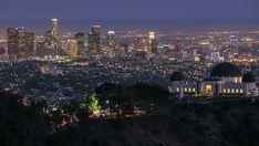 Bildresultat för los angeles hills by night