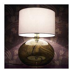 LJUSÅS YSBY Table lamp, green