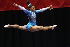 Gymnastics Championships, Gymnastics Team, Olympic Gymnastics, Gymnastics Poses, Olympic Games, Simone Biles, Sports Illustrated, Olympic Trials, Us Olympics