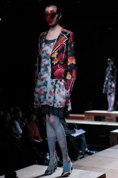 8-bit Fashion. Anrealage Fall/Winter 2011 Tokyo