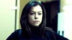Sarah Manning throughout Orphan Black season 1