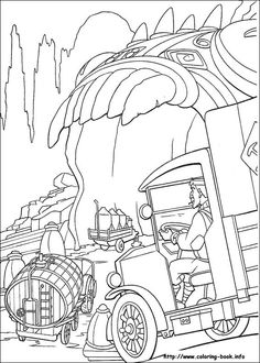 Atlantis coloring picture