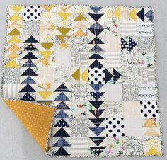 Modern Goodness, what a fun way to use up bits and pieces of your modern stash and scraps