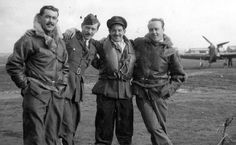 Following combat over RAF Biggin Hill at 09.30 on 31 August 1940, Hurricane Mk I NV-F bellied in a walled Elizabethan garden next to a country house near Oxted. Coming round, P/O George H Nelson-Edwards (far right) of No 79 Squadron RAF first recalled a parrot perched on the side of the cockpit, its wide open eyes blinking at him. Still dazed, the 22-year-old pilot noticed a human head and a hand stretching towards him proffering a cut glass tumbler of brandy from a tray.