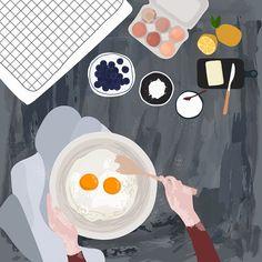 how to draw kawaii Art And Illustration, Illustration Inspiration, Food Illustrations, Design Graphique, Aesthetic Art, Cute Drawings, Cute Wallpapers, Cute Art, Vector Art