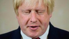 Augen zu und raus: Boris Johnson bei einem Auftritt am 30. Juni in London