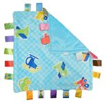 Little Taggies Blanket in Blue Vehicles