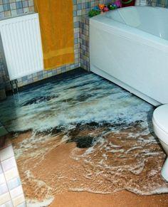 Image Result For Unusual Bathroom Ocean Bathroom Decor, Tropical Bathroom,  Mermaid Bathroom, Bathroom