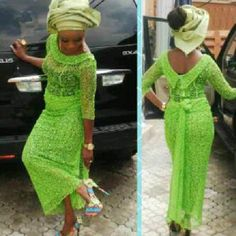 Hey Ladies & Gents, Who doesn't love the way traditional weddings are filled with playful banter, varieties of food, vibrant colours and more? We cannot deny the fact that the Yoruba traditiona… African Lace Styles, African Lace Dresses, Latest African Fashion Dresses, African Dresses For Women, African Women, Ankara Styles, African Clothes, African Style, African Wedding Attire