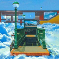 [Subway Artwork 시리즈] - 그래픽 디자인 · 디지털 아트, 그래픽 디자인, 디지털 아트, 그래픽 디자인, 디지털 아트