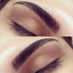 perfect-eyebrows-made-easy-with-semi-permanent-make-up - More Beautiful Me 1 Tweezing Eyebrows, Thin Eyebrows, Thick Brows, Permanent Eyebrows, Eyebrows On Fleek, Threading Eyebrows, Microblading Eyebrows, Thick Eyebrow Shapes, False Eyebrows