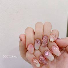 Gel Nails, Manicure, Nail Polish, Gorgeous Nails, Pretty Nails, Korea Nail, Nail Arts, Swag Nails, Nails Inspiration