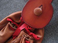 16th century German - bag - lid