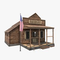 House 3d Model, Model Building, Photography Business, Westerns, Outdoor Structures, Cabin, Ghost Towns, House Styles, Rodeo