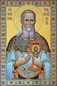 Holy Righteous John of Kronstadt.