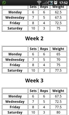 Smolov Jr  - 531 Excel Spreadsheet | FITNESS | Squat workout, Bench
