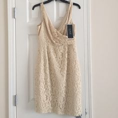 J.Crew ivory lace dress NWT Never been worn, new with tags J. Crew Dresses