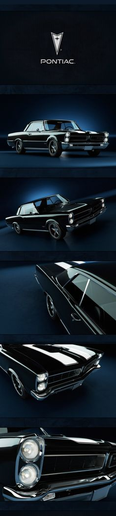 Pontiac '65 GTO by Narek...Re-pin..Brought to you by #HouseofInsurance in #Eugene #Oregon