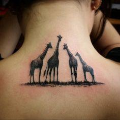 Giraffe Tattoos Id eas Mommy Tattoos, Baby Tattoos, Girly Tattoos, Family Tattoos, Future Tattoos, Body Art Tattoos, Small Tattoos, Sleeve Tattoos, Cool Tattoos
