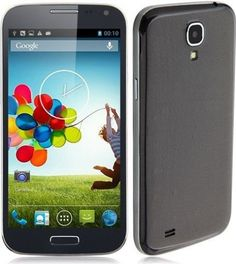 JIAKE I9500W Smartphone MTK6582 Quad Core 1.3GHz Android 4.2 3G GPS 5.0 Inch -Black - For Sale