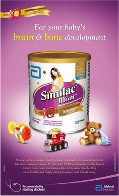 "Weighty Matters: Move Over Babies! Similac Now Pumping Formula for Moms!? KellyMom says, ""Pregnant and breastfeeding moms do not need nutritional drinks to make healthy babies! Did you know that Similac formula for pregnant and breastfeeding moms is being marketed as a ""nutritional beverage"" despite the fact that it contains more sugar than Coca-Cola?"""