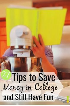 27 Ways to Save Money in College and Still Have Fun – Finance tips, saving money, budgeting planner Money Saving Challenge, Money Saving Tips, Money Tips, Saving For College, Budget Planer, Budgeting Money, Ways To Save Money, Finance Tips, Money Management