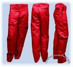We all were prepared to jump outta a plane - during flight - cuz of these pants.