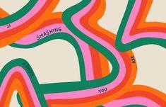 'Honey you are smashing it' Desktop wallpaper by Poppy Deyes