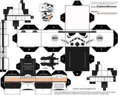 Cubee - Femtrooper by CyberDrone.deviantart.com on @deviantART
