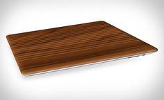 wood ipad cover
