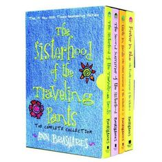 read all of the sisterhood of the traveling pants books