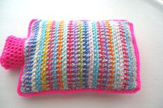 Hot+Water+Bottle+Cover++Cozy+in+Rainbow+colours+and+by+Aalexi