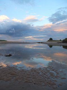 Late Fishing Alnmouth Beach