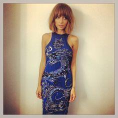 Nicole Richie Emilio Pucci dress