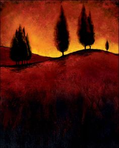 Lola abstract tuscany paintings - Google Search