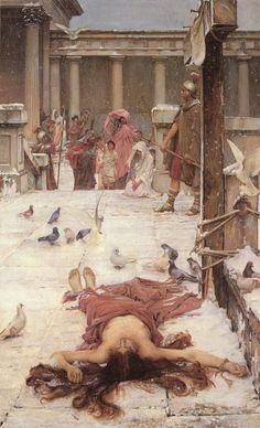 John William Waterhouse - Saint Eulalia - 1885 - John William Waterhouse - Wikipedia, the free encyclopedia