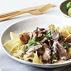 Quick Beef Stroganoff | MyRecipes.com